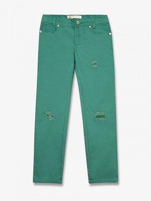 GPT004216 Брюки для девочек, зеленые