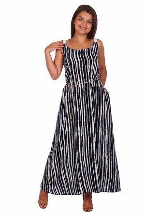 Платье - сарафан Сабина (3237). Расцветка: полоса
