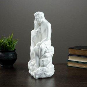 """Светящаяся фигура """"Влюбленные на камне"""" 13х17х31см"""