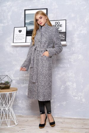 """Пальто """"Р-1"""" (букле-серый)"""