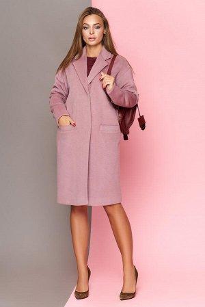 """Пальто """"Р-24"""" (шерсть розовый)"""