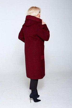 """Пальто """"Стелла"""" (бордо)"""