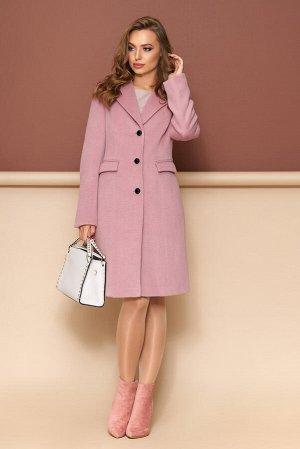 """Пальто """"Р-36"""" (шерсть ворсовая розовый)"""
