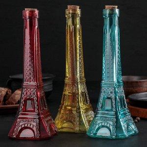 Бутылка для масла «Париж», 200 мл, h=24 см, цвет МИКС