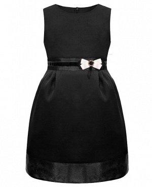 Черный сарафан для девочки 83591-ДШ19