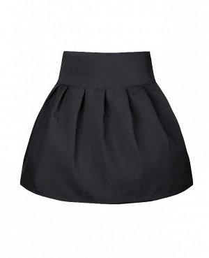 Юбка для девочки из костюмной вискозы,серый 71733-ДШ19