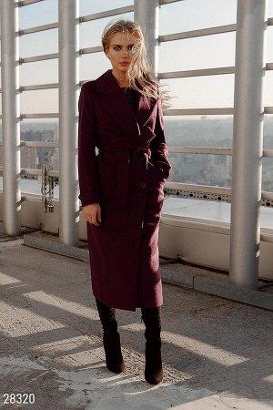 Элегантное шерстяное пальто
