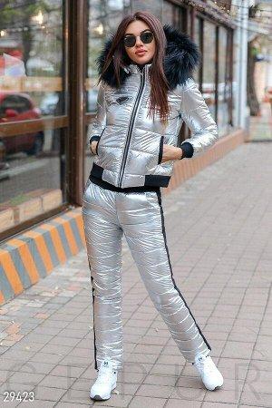 Зимний стеганый костюм
