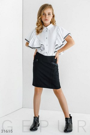 Облегающая короткая юбка