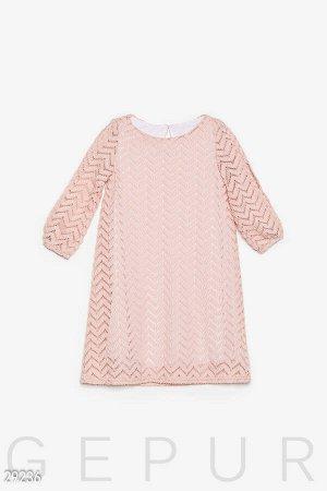 Детское платье-трапеция