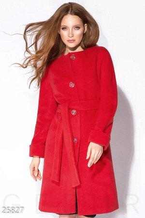 Лаконичное кашемировое пальто