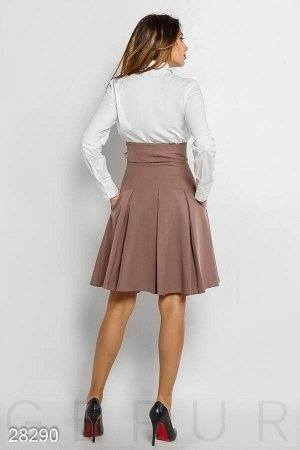 Высокая деловая юбка