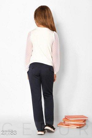 Школьная блуза-свитшот