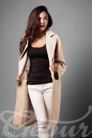 Кашемировое пальто oversize