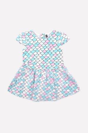 5506 Платье/чешуя к211
