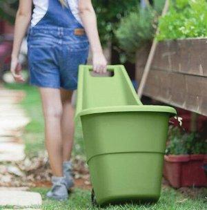 Тачка садовая EASY GO BREEZE 50L 17199467(И) резеда зеленый
