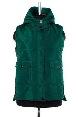 04-2309 Куртка демисезонная (синтепон 150) Плащевка зеленый