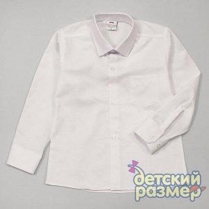 Рубашка Рубашка для мальчиков с длинным рукавом:- выполнена из легкого и приятного к телу текстиля- застегивается на пуговицы по всей длине- на груди маленький кармашекПрекрасно подойдет для школы или