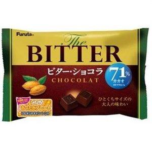 FURUTA  Горький шоколад, 71% какао в мини-упаковках 160 гр.