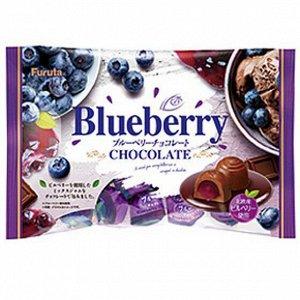 FURUTA  Шоколадные конфеты с голубикой 188 гр
