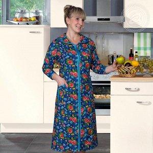Домашний халат Perla Цвет: Синий. Производитель: АРТ ДИЗАЙН