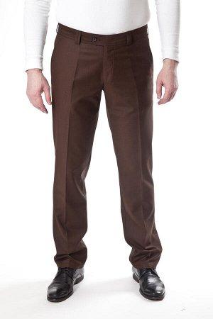 Брюки мужские коричневые 7909