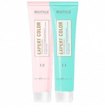 Bouticle + DCM. Серия для поврежденных осветленных волос — Перманентный крем-краситель для волос EXPERT COLOR -101 цвет