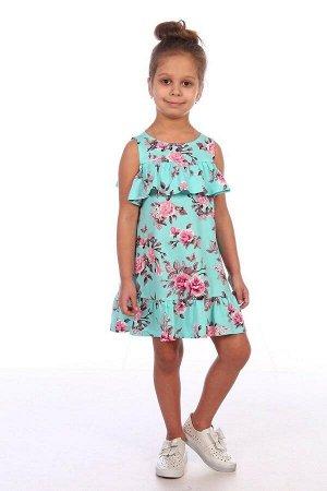 Платье Ткань: Кулирка Состав: Хлопок 100%