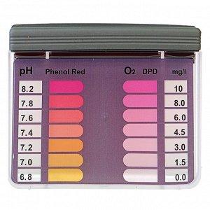 Тестер для измерения активного кислорода и ионов водорода в воде бассейна