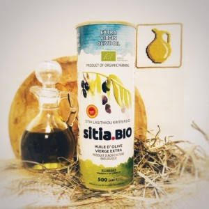 Оливковое масло P.D.O. Sitia.BIO, о.Крит, жест.банка, 500мл