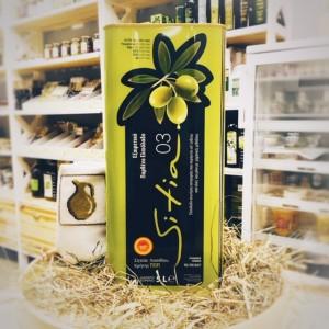 Оливковое масло P.D.O. Sitia 03%, о.Крит, жест.банка, 5л