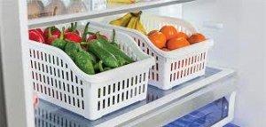 Корзинка для продуктов в холодильнике 200*300*140  1/24