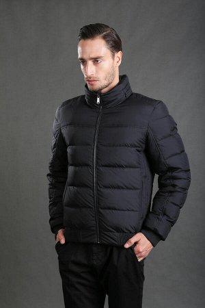 Демисезонная мужская утепленная куртка Hermzi, цвет ЧЕРНЫЙ