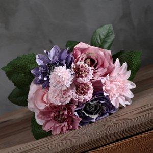 Цветок Прекрасный букет искусственных цветов. 25*28см