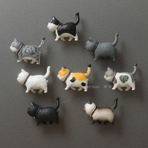 Набор магнитов котики