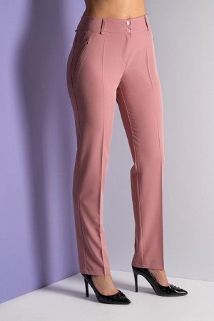 Классические брюки цвета пудра