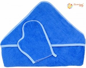 Комплект для купания с варежкой (махровый)