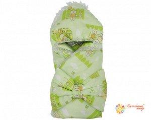 Одеяло конверт с бантом (Бязь набивная 100% хб)
