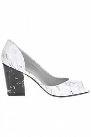 5525-151-521 Туфли жен. /Verniz Perlino/Eco Leather/White ME, /WMB-35:1,1,2,2,1,1.