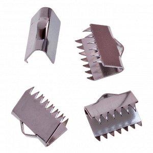 Зажимы для лент, хирургическая сталь, р-р 10.5х9мм, отв-е 1.5мм