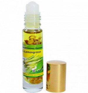 Жидкий масляный бальзам - ингалятор Banna с эфирными маслами и ЛЕМОГРАССОМ