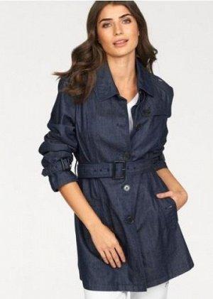Летний джинсовый плащ, Danwear, на рус.размер 48, 48-50.