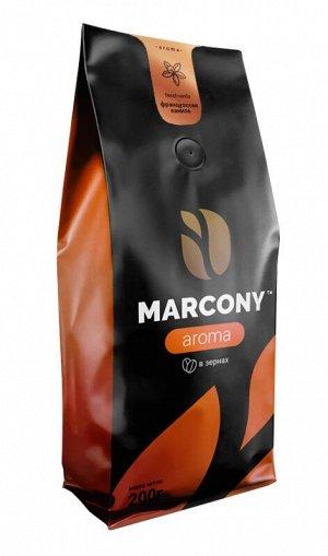 Кофе Marcony Aroma Ваниль. Зерно