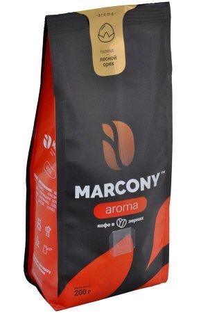 Кофе Marcony Aroma Лесной орех. Зерно