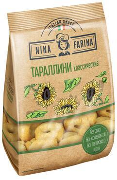 «Nina Farina», тараллини классические, 180г