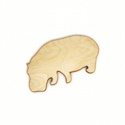 Пермская игрушка  - любая надпись! 🤩 именные изделия — Животные для творчества 10 на 15 см-2 — Деревянные игрушки