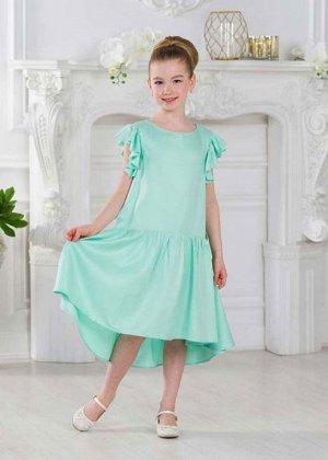 """Платье """"Вдохновение"""" зеленый"""