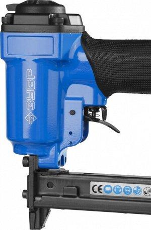 Степлер (скобозабиватель) пневматический для скоб тип 53F (10-22 мм) и тип 140 (10-14 мм)
