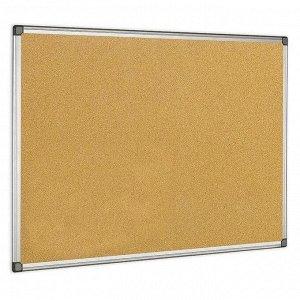 Доска пробковая 600*900 Premium, алюминиевая рамка