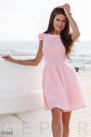 Классическое платье в полоску